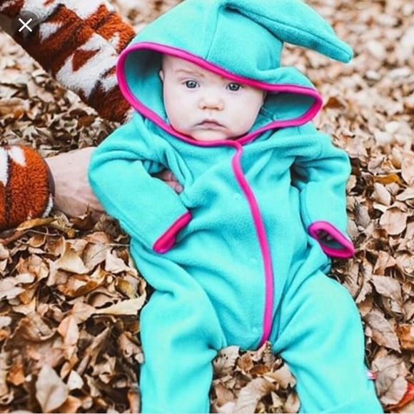 a3caee452 Zutano One Pieces | Cozier Elf Suit Teal 1218 Coverall Fleece | Poshmark